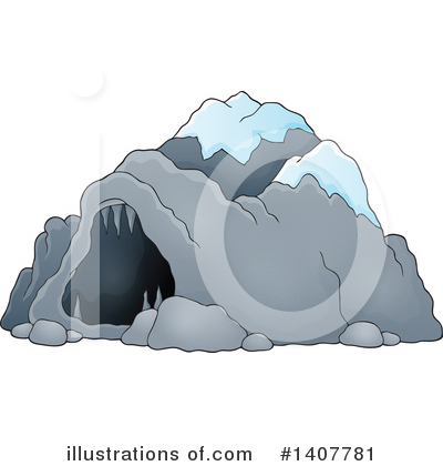 Cave Clipart #1407781 by visekart