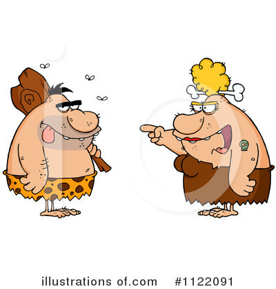 Caveman Clipart #1122091 by Hit Toon