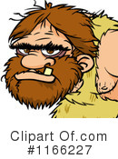 Royalty-Free (RF) Caveman Clipart Illustration #1166227