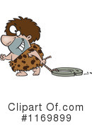 Royalty-Free (RF) Caveman Clipart Illustration #1169899