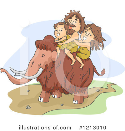Mammoth Clipart #1213010 by BNP Design Studio