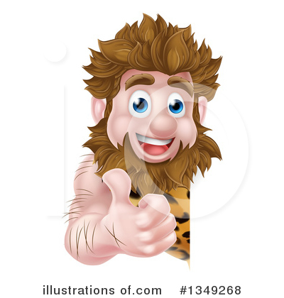Caveman Clipart #1349268 by AtStockIllustration