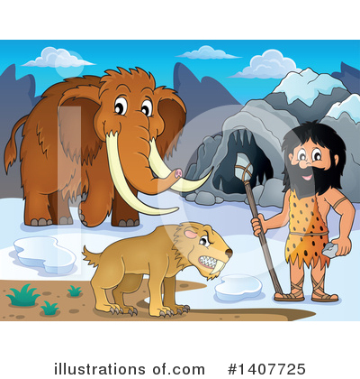 Woolly Mammoth Clipart #1407725 by visekart