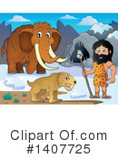 Caveman Clipart #1407725 by visekart