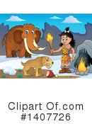 Caveman Clipart #1407726 by visekart