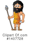 Caveman Clipart #1407728 by visekart