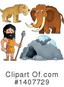 Caveman Clipart #1407729 by visekart