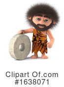 Caveman Clipart #1638071 by Steve Young