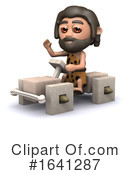 Caveman Clipart #1641287 by Steve Young