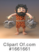Caveman Clipart #1661661 by Steve Young