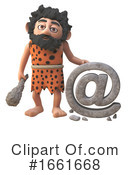 Caveman Clipart #1661668 by Steve Young