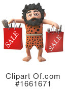 Caveman Clipart #1661671 by Steve Young