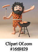 Caveman Clipart #1669829 by Steve Young