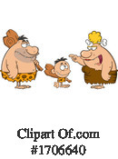 Caveman Clipart #1706640 by Hit Toon