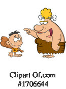 Caveman Clipart #1706644 by Hit Toon