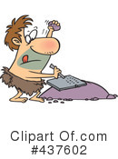 Royalty-Free (RF) Caveman Clipart Illustration #437602