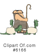 Royalty-Free (RF) Caveman Clipart Illustration #6166