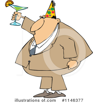 Toasting Clipart #1146377 by djart
