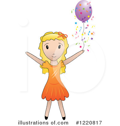Royalty-Free (RF) Celebrate Clipart Illustration by Pams Clipart - Stock Sample #1220817
