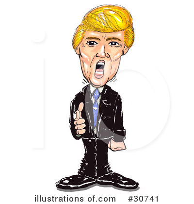 Donald Trump Clipart #30741 by Spanky Art