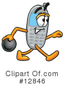 Cell Phone Character Clipart #12846 by Toons4Biz