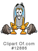 Cell Phone Character Clipart #12886 by Toons4Biz