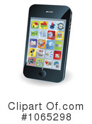 Cell Phone Clipart #1065298 by AtStockIllustration