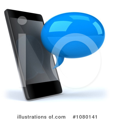 Cell Phone Clipart #1080141 by Julos