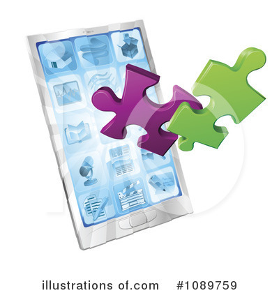 Puzzle Clipart #1089759 by AtStockIllustration