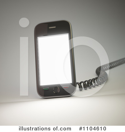 Cell Phone Clipart #1104610 by Mopic