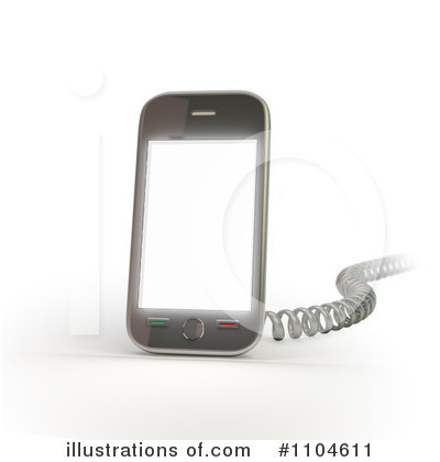 Cell Phone Clipart #1104611 by Mopic