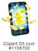 Cell Phone Clipart #1108703 by AtStockIllustration