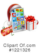 Cell Phone Clipart #1221326 by AtStockIllustration
