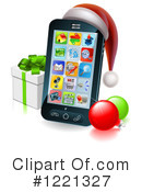 Cell Phone Clipart #1221327 by AtStockIllustration
