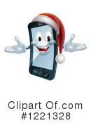 Cell Phone Clipart #1221328 by AtStockIllustration