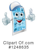 Cell Phone Clipart #1248635