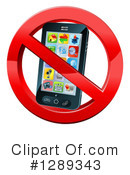 Cell Phone Clipart #1289343