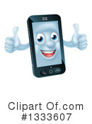 Cell Phone Clipart #1333607 by AtStockIllustration