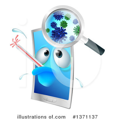 Germs Clipart #1371137 by AtStockIllustration
