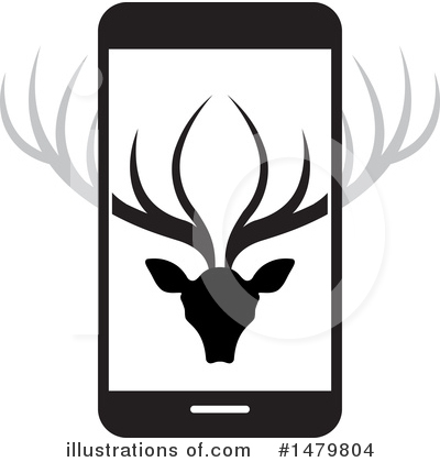 Cell Phone Clipart #1479804 by Lal Perera
