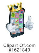Cell Phone Clipart #1621849 by AtStockIllustration