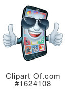 Cell Phone Clipart #1624108 by AtStockIllustration
