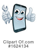 Cell Phone Clipart #1624134 by AtStockIllustration
