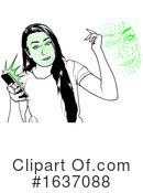 Cell Phone Clipart #1637088 by dero