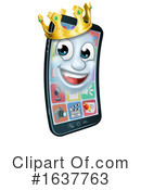 Cell Phone Clipart #1637763 by AtStockIllustration