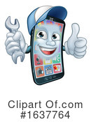Cell Phone Clipart #1637764 by AtStockIllustration