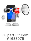 Cell Phone Clipart #1638075 by Steve Young