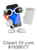 Cell Phone Clipart #1638077 by Steve Young