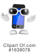 Cell Phone Clipart #1638078 by Steve Young