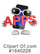 Cell Phone Clipart #1640226 by Steve Young